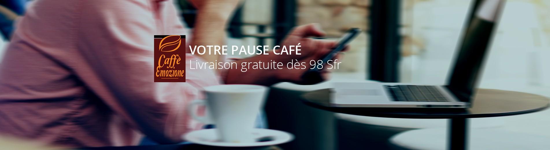 Votre pause café